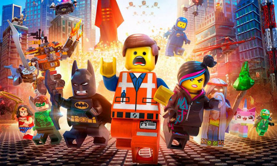 The Lego Movie highest earner of 2014
